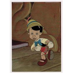 Pinocchio original production cel