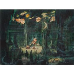 Gustaf Tenngren original concept painting for Pinocchio