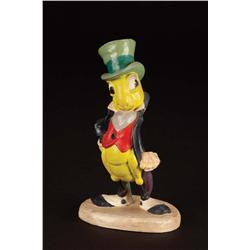 Original Walt Disney Jiminy Cricket maquette from Pinocchio