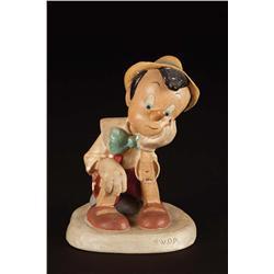 Original Walt Disney Pinocchio maquette from Pinocchio