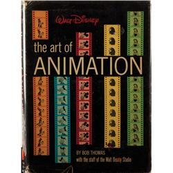 The Art of Animation signd by Mary Blair, Marc Davis, Frank Thomas, etc