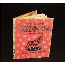 The Story of Ferdinand by Munro Leaf signed by Walt Disney
