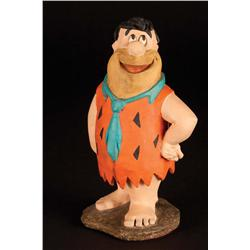 Fred Flintstone and Barney Rubble maquettes