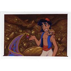 Aladdin background color key painting