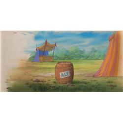 Robin Hood original pan production background