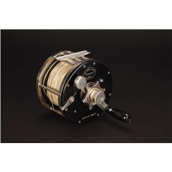 """Lawrence Tibbett's custom """"Errol Bullen/Atalanta"""" big-game fishing reel"""