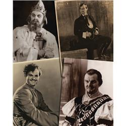 Lawrence Tibbett's personal collection of oversize photographs from his Opera and stage career