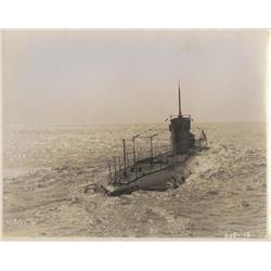 Lot of photographs from the German silent submarine espionage film, Maré Nostrum