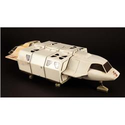 "Screen-used ""Visitor"" shuttlecraft filming miniature from V: The Final  Battle"