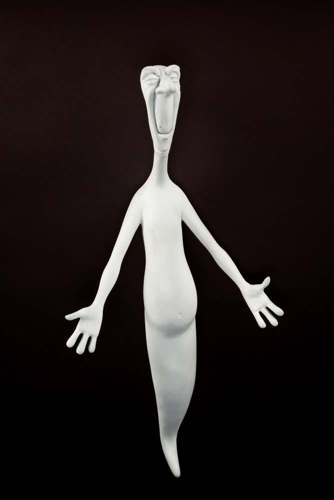 Stinky and Stretch ghost maquettes from Casper