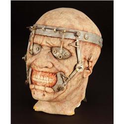"""Screen-used hero """"Surgeon"""" Cenobite prosthetic mask from Hellraiser: Hellseeker"""