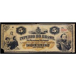 Imperio Do Brasil, Estampa 7a, 1874.