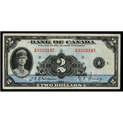 Bank of Canada, 1935 English Issue.