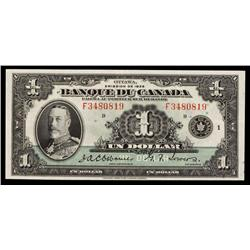 Banque Du Canada, 1935 French Issue.