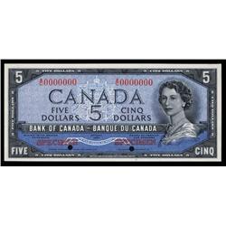 Bank of Canada, 1954 Devil's Face Specimen.