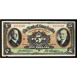 Bank of Nova Scotia, 1935.