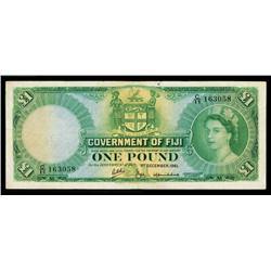 Government of Fiji, 1953-67 Issue.