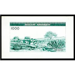 Banque Centrale De La Republique De Guinee Production Proof.