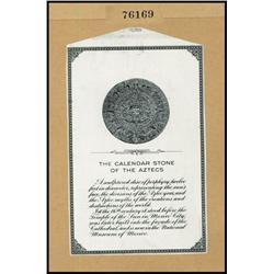 Aztec Calendar Stone Proof from ABNC Perpetual Calendar.