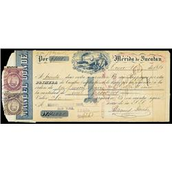 Manuel Donde, Merida y Yucatan 1st of Exchange.