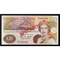 Government of St. Helena, 2004 Issue Specimen.