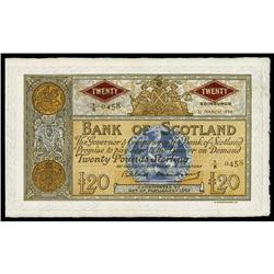 Bank of Scotland, 1958-63 Issue.