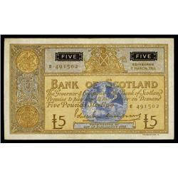 Bank of Scotland, 1966 Issue.