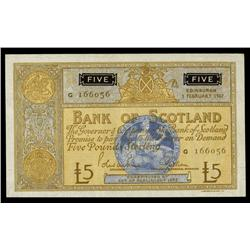 Bank of Scotland, 1967 Issue.