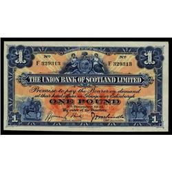 Union Bank of Scotland, 1929.
