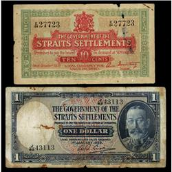 Government of the Straits Settlements, 1919-35 Issues.