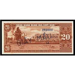 National Bank of Viet Nam, ND 1962 Issue.
