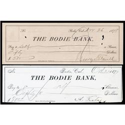 Bodie Bank Check Pair.