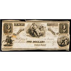 Dixon Hotel Co. Obsolete Banknote.
