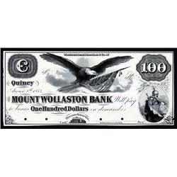 Mount Wollaston Bank Proof Obsolete Banknote.