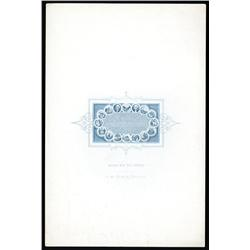 American Bank Note Company Micro Engraving of Declaration of Independence.