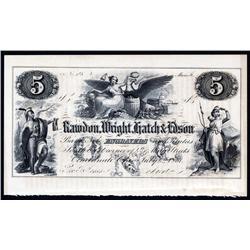 Rawdon, Wright, Hatch & Edson Engravers Ad Note.