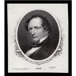 Proof Portrait of Solomon Juneau From ABNC Archives.