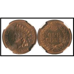 1909 Indian 1C, PF 64 RB.