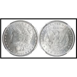 1880 CC S$1, NGC Graded MS 63