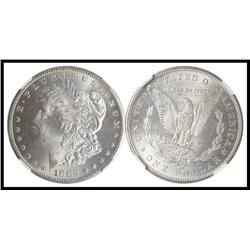 1882 CC S$1, NGC Graded MS 64