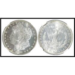 1903 O $1 NGC Graded MS 63.