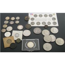 U.S. Coin Assortment Mélange.