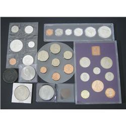 Canada & Great Britain Coin Assortment.