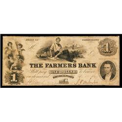 The Farmers Bank, 1849 Obsolete.