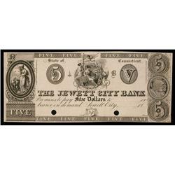Jewett City Bank ca.1830's Obsolete Proof.