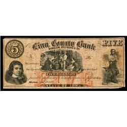 Linn County Bank Obsolete Banknote.