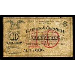 Haines & Company Obsolete Scrip Note.