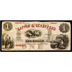 Lappin & Scrafford Obsolete Banknote.
