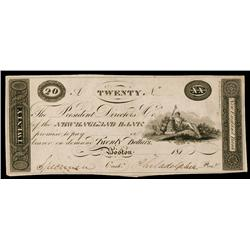 New England Bank 181x (ca.1810-19) Obsolete Proof.