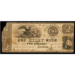 The Kilby Bank Obsolete Banknote.